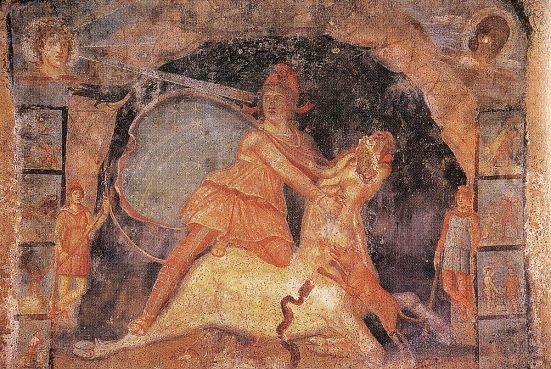Fresque_Mithraeum_Marino