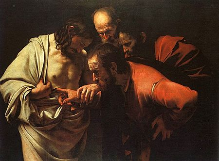 450px-Caravaggio_-_The_Incredulity_of_Saint_Thomas