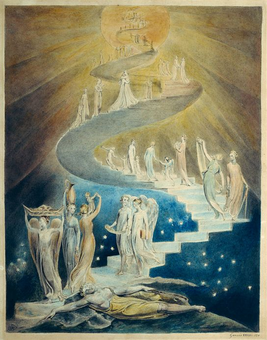 Jacob's Dream by William Blake, 1805