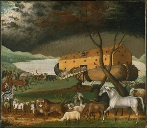 Noah's Ark, Edward Hicks, 1846