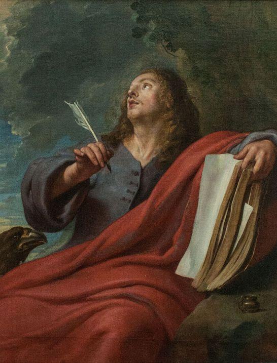 Saint John on Patmos by Gaspar de Crayer