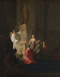 Solomon's descent into idolatry, Willem de Poorter, Rijksmuseum
