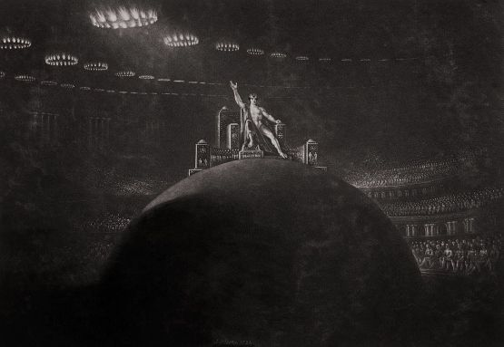 Satan presiding at the Infernal Council, John Martin, 1824