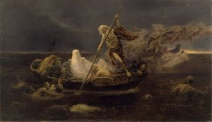 The River Styx by Félix Resurrección Hidalgo (19th century).