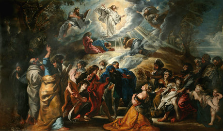 The Transfiguration by Peter Paul Rubens, 1605