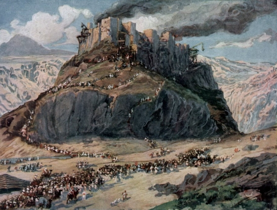 The Conquest of the Amorites; watercolor circa 1896–1902 by James Tissot.