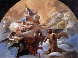 Satan before the Lord by Corrado Giaquinto, 1750.