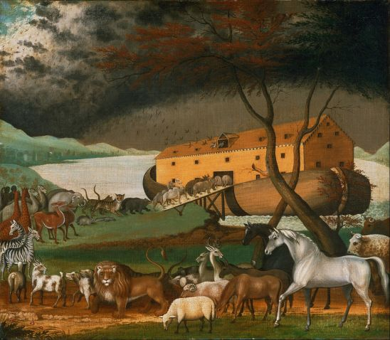 Noah's Ark by Edward Hicks, 1846