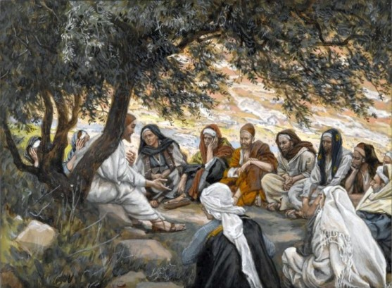 The Exhortation to the Apostles by James Tissot, 1894.