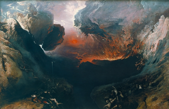 John Martin - The Great Day of His Wrath, 1851.