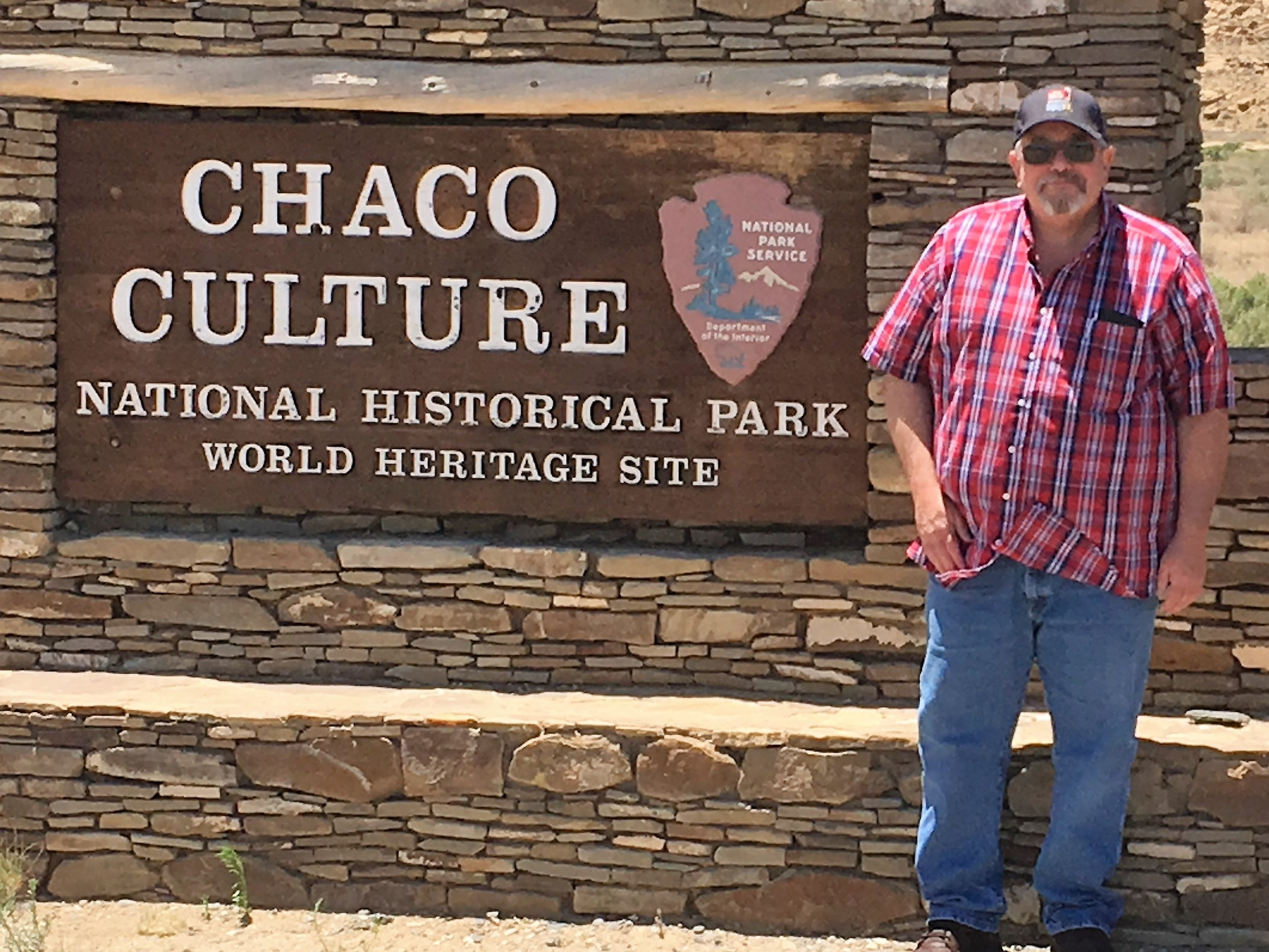 Me in Chaco Canyon 2